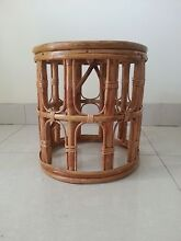 handcrafted bamboo table 13in wide/ 14in high. Glendenning Blacktown Area Preview