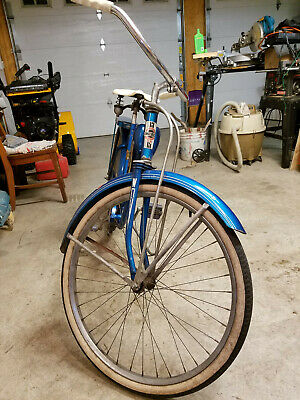 Vintage Western Flyer X53 bicycle rear fender reflector reproduction