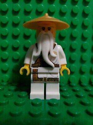 Lego Ninjago Sensei Wu Gold Outfit Minifigure 5004856 Secret World Ninja Book