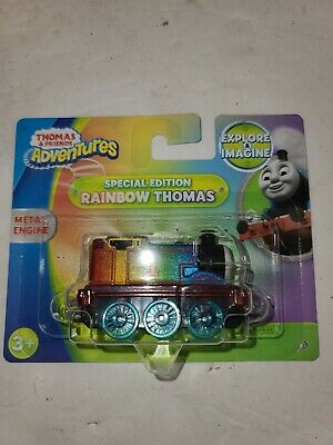 Fisher Price Thomas Friends Track Train Adventures SPECIAL EDITION RAINBOW Gift