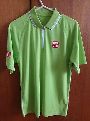 Uniqlo Kei Nishikori Tennis Polo Shirt Jap Medium UK Small