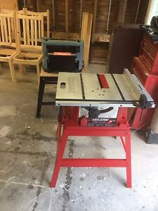 "Skilsaw 10"" table saw."