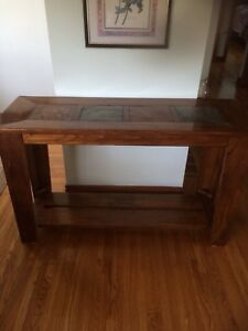 Coffee table and TV stand/sofa table