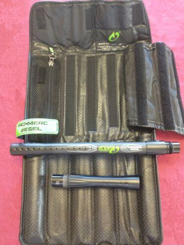 Sly Pro Merc Diesel Caron Fiber Autococker Paintball Barrel w/Case and .689 Back