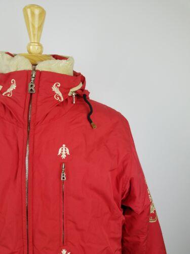 Купить Bogner - BOGNER Red Embroidered Royal Ski Jacket Women Size 8 #H35