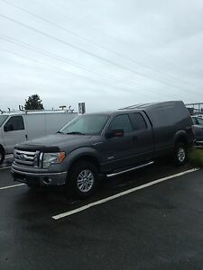 2011 FORD F-150 4X4 8' box supercab ecoboost