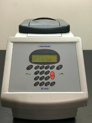 Techne Tc-412 Ftc41h2d Pcr Thermal Cycler -4c To 99c W Ftc41bhd 96-well Plate