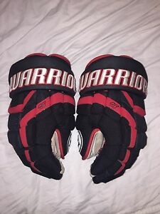 Selling my Warrior QR Pro Gloves/Blackhawks Colour way