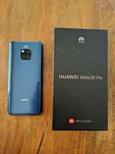 Huawei Mate 20 Pro 128GB Storage 6GB Ram Midnight Blue