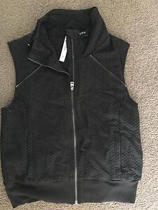 Lorna Jane SMALL Black sleeveless Jacket Sydney City Inner Sydney Preview