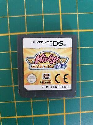 RARE GAMEBOY GAME JEU KIRBY SUPER STAR ULTRA NINTENDO DS DSI 2DS NTR-YKWP-EUR