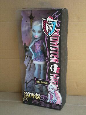 Monster High Scaris Abbey Bominable Paris Travel Doll 2012 Mattel BNIB