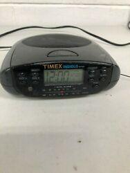 Timex Indiglo T433B Dual Alarm Clock Radio