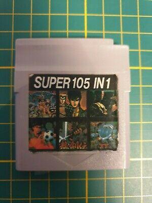 NEW RARE HIGH  SUPER 105 IN 1 MULTICART BIG Nintendo Gameboy Game boy