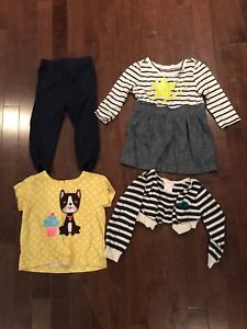 12-18 months lot of clothes