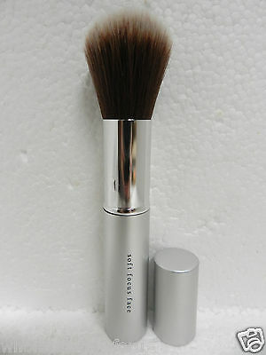 Retractable Face Brush - $30 NEW SEALED BAREMINERALS I.D. ESCENTUALS SOFT FOCUS FACE BRUSH RETRACTABLE