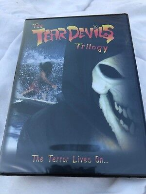 Halloween Trilogy Blu Ray (New! THE TEAR DEVILS TRILOGY DVD Rare 90's Surf Surfing Video Horror)
