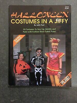 HALLOWEEN COSTUMES IN A JIFFY - SALLY PAUL PLAID 8748 - Sally Halloween Costume Pattern