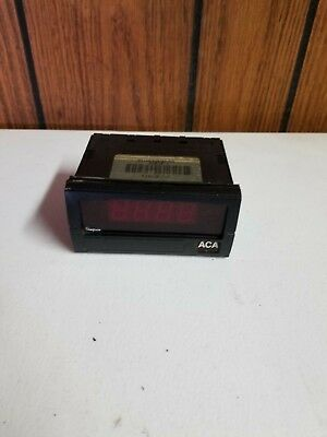 Simpson Digital Panel Meter F351460 3 12 Digit Led 120 Vac 5aac