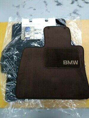 BMW Genuine Tobacco Carpet Floor Mats 2008-2013 X5 X6 35dX 35iX 50iX 82110439412