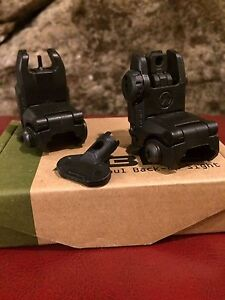 Magpul MBUS tactical back up sights knock offs