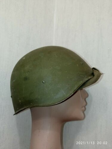 Helmet SSh 40 Steel WW2 Original Russian Military Soviet Army RKKA