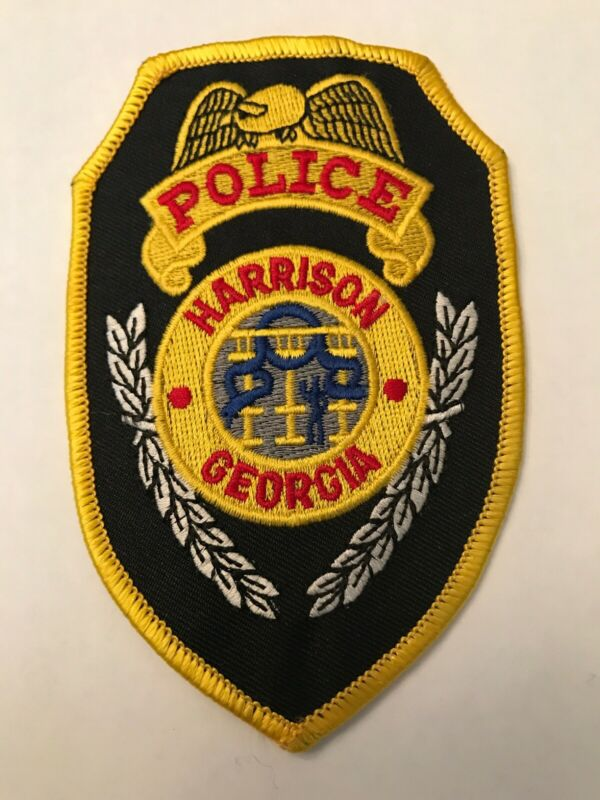 Harrison Georgia Police Department Patch Ga