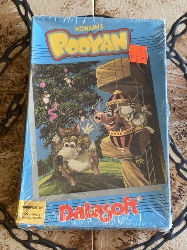 Computer Games - Datasoft Konami's Pooyan Commodore 64 Computer Game