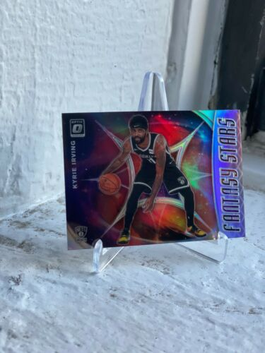 2019-20 DONRUSS OPTIC BROOKLYN NETS KYRIE IRVING SILVER PRIZM FANTASY STARS