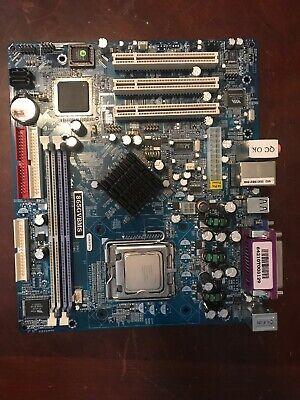 JetWay J865GVBMS LGA 775 Intel 865GV Micro ATX Intel Motherboard With Processor