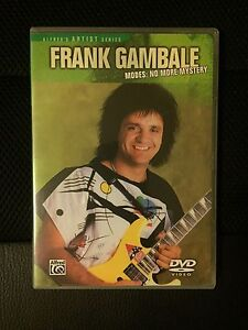 Instructional DVD - Frank Gambale, Modes: No More Mystery Richmond Yarra Area Preview