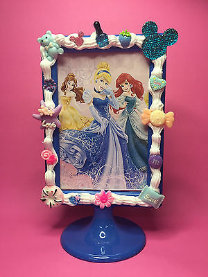 Frozen Anna Elsa Disney Princess Photo Frame Cornice Porta foto Kawaii Cake