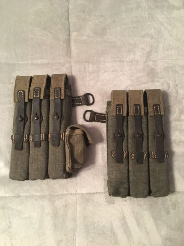 WWII German Reproduction MP 38/40 Pouches