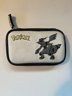 Nintendo DS Pokemon Black Travel Carry Case Accessory Bag Reshiram Zekrom