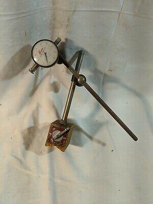 Enco Model No.340 Onoff Magnetic Base Indicator Holderwenco 682-01 Indicator