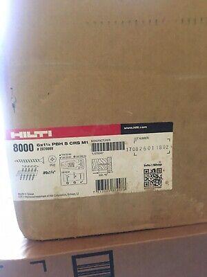 New Hilti Pbh S Crs M1 Drywall Screw 6x1-14 Pbh Sd M1 2070969 8000