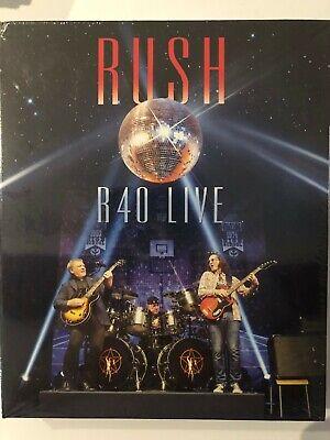 rush r40 live blu ray + 3cd box set BRAND NEW SEALED ITEM