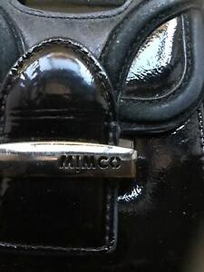 Mimco leather clutch.