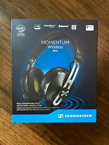 Sennheiser Momentum 2.0 Over Ear Wireless Black Headphones North Sydney North Sydney Area Preview