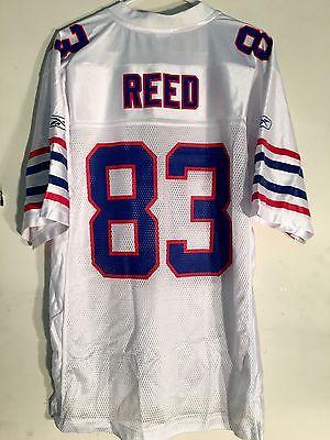 Reebok NFL Jersey Buffalo Bills Andre Reed White sz XL