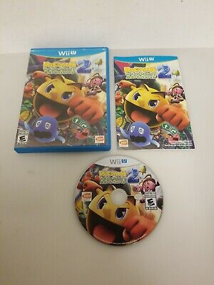 Pac-Man and the Ghostly Adventures 2 COMPLETE CIB (Nintendo Wii U, 2014)
