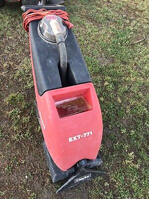 Clarke Ext-771 Commercial Self Contained Carpet Extractor