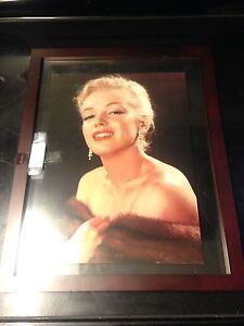 Marilyn Monroe picture in frame