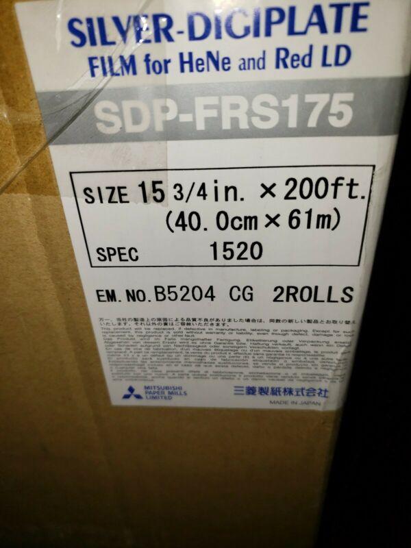 Mitsubishi Silver Digiplate SDP-FRS175