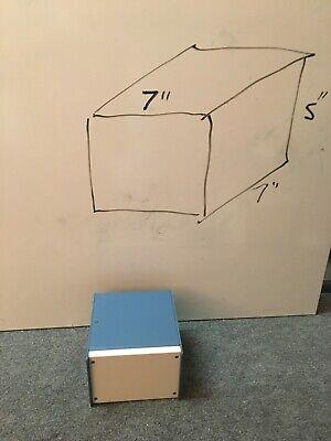 Box Metal Modular Project Enclosure Powder Coated Aluminum 7x7x5