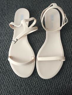 New Nude ASOS Jelly Flats - Size 41
