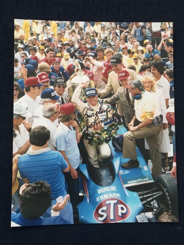 Gordon Johncock Signed Indy 500 Indianapolis 8 X 10 Photo Autographed 1982