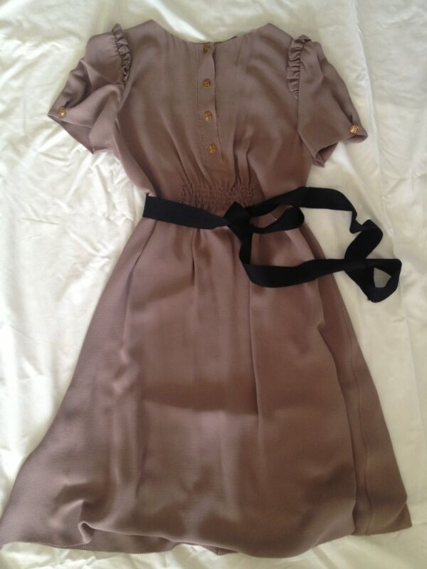 SO BREATHTAKING***FENDI SILK BABYDOLL DRESS****!!SIZE 42