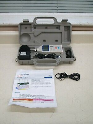 Ono Sokki La-1210 Digital Sound Level Meter Decibel Meter W Case Used