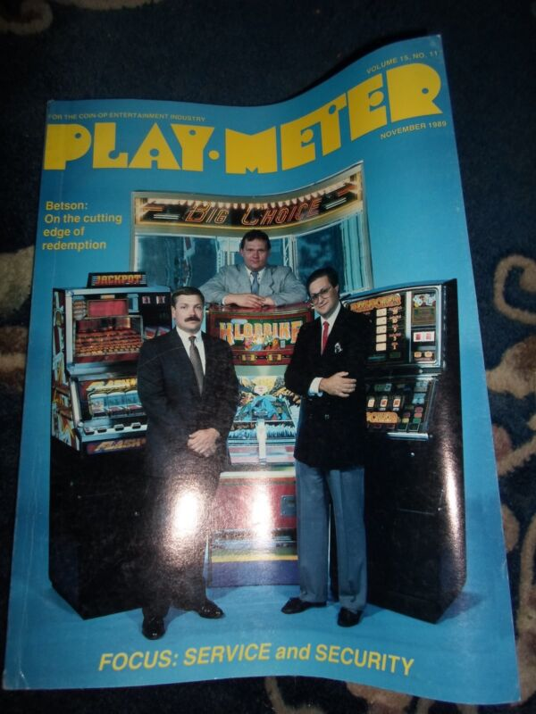coin-op Amusements NOVEMBER 1989 vol15#11 REPLAY MAGAZINE: